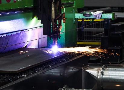 Metall schneiden mit dem Laser